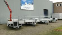 Weijer plateauwagens 4x voor showroom