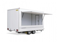 Humbaur HVK verkoopaanhangwagen
