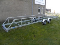 Leidingaanhangwagen 11.8m