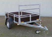 Actie enkelas aanhangwagen 200x132cm