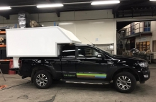 Losse opbouw voor Ford Pick-up truck