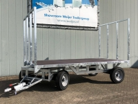 Schamelwagen totaalgewicht 8 ton