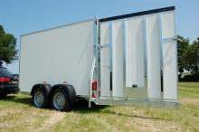 Sirius Kargo trailer G375 tandemas