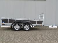 Ongeremde bakwagen 257x132cm DA