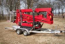 Weijer WPH-S hoogwerker transporter