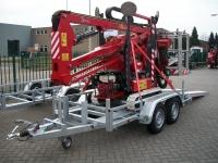Weijer WPH hoogwerker transporter 3000kg 300x136cm
