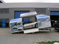 Weijer gesloten autotransporter speciaalbouw