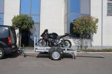 Motoraanhangwagen 225x100x15cm
