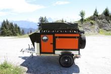 Offroad enkelas bakwagen